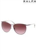 Ralph By Lauren Burgundy Sunglasses