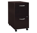 "Corsa Collection, 20.4"" 2 Dr, Mocha Cherry, 2-drawer File  from: USD$219.99"