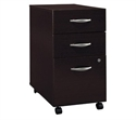 "Corsa Collection, 20.4"", 3 Dr, Mocha Cherry, 3-drawer File  from: USD$199.99"