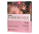 "Fireworx Colored Multi-use Paper, 8 1/2"" X 11"" 3hp, Powder Pink  from: USD$9.28"