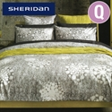Sheridan Quilt Cover Set - Queen Size Posen Charcoal  from: AU$199.95