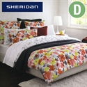 Sheridan Reversible Quilt Cover Set - Double Size Bettina Strawberry  from: AU$169.95