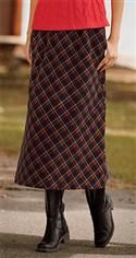 Orvis Black Tartan Corduroy Skirt  from: USD$34.00