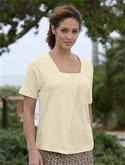 Orvis Drape-front Square-neck Tee  from: USD$24.00