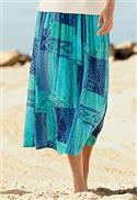 Orvis Ocean Print Skirt  from: USD$59.00