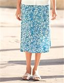Orvis Rustling Leaves Crinkle-rayon Skirt  from: USD$54.00
