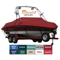 Exact Fit Sunbrella Boat Cover For Four Winns Freedom 160 W/motor Cut Out  from: USD$624.98