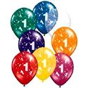 1st Birthday Balloons Latex  from: AU5.50