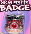 Bachelorette Badge  from: AU7.95