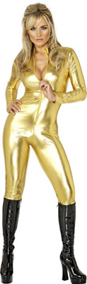Cat Suit -gold Medium  from: AU38.95