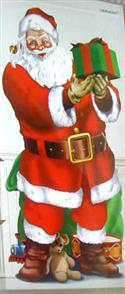 Christmas Scene Setter Add On Santa With Presents  from: AU5.95