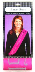 Girls Night Out Party Sash  from: AU8.95
