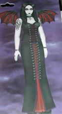 Goth Beauty Life Size Jointed Figure  from: AU26.95