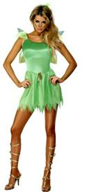 Green Woodland Fairy Costume, Headpiece And Wings - Small  from: AU35.00