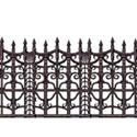 Halloween Scene Setter Insta Theme Creepy Fence Border  from: AU19.95