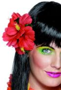 Hawaiian Hair Clip Hibiscus - Red  from: AU4.95