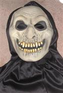 Hooded Monster Full Face Soft Latex Mask  from: AU26.95