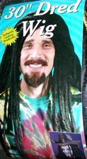 Long Hippie Dredlock Wig  from: AU27.95