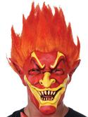 Mask - Joker In Flames Full Face  from: AU24.95