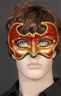 Mask - Red, Gold & Black Brocaded Masculine  from: AU34.95