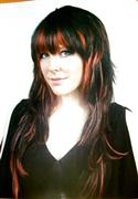 Red And Black Layered Wig  from: AU26.95