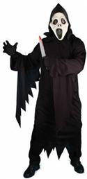 Screaming Ghost Gown & Mask  from: AU49.95