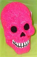 Sparkling Light Up Skull - Hot Pink  from: AU12.95