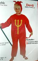 Toddler`s Devil Fancy Dress Costume 1-2 Yr Olds  from: AU17.95