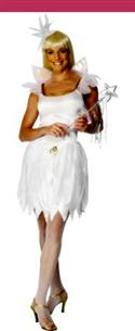 White Woodland Fairy Dress Wings & Headpiece- Large  from: AU32.95