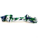 "Flossy Chews Colored Rope Bone: Small - (4"" Long) #20002f Ropes & Tugs For Dogs  from: USD$1.47"