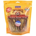 Smokehouse Treats Chicken Breast Strips: 8 Oz #84317 - Meaty Dog  from: USD$10.94