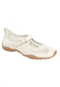 Roamans Plus Size Ashley Mesh Sneaker By Comfortview (beige, 7 1/2 W)  from: USD$64.98