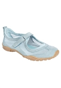Roamans Plus Size Ashley Mesh Sneaker By Comfortview (denim, 9 M)  from: USD$64.98