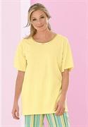 Roamans Plus Size Short Sleeve Tagless Sleep Tee (banana, 3x)  from: USD$13.98