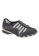 Roamans Plus Size Tory Elastic Lace Sneaker By Comfortview (black, 7 1/2 M)  from: USD$64.98