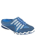 Roamans Plus Size Trina Sneaker Mule By Comfortview (royal Blue, 8 M)  from: USD$64.98