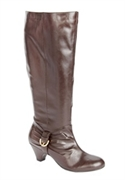 Roxy Boots By Comfortview (dark Brown, 9 1/2 Ww)