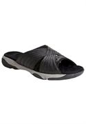 Trek Sporty Slide Sandal By Comfortview (black, 12 W)  from: USD$64.98
