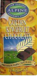 """Golden Kiwifruit Chocolate - 200g "" from: NZ6.50"