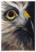 """Hawk Art Block, Large - Robyn Forbes "" from: NZ55.90"