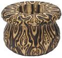 """""""Rangi Fluted Wooden Vase - Fernwood """" from: NZ32.20"""