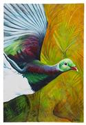 """The Kereru, Medium Art Block - Robyn Forbes "" from: NZ27.90"