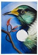 """Tui Art Block, Large - Robyn Forbes "" from: NZ55.90"