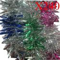 Bulk Lot Of 240 X Colorful Tinsel Decorations  from: AU133.38