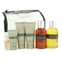 Molton Brown Men`s Traveller: Black Pepper Bodywash + Citrus Mineral Ions Facewash Supershave Hydrator Edt Bag 6pcs+bag  from: USD$116.00