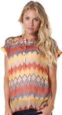 Quiksilver Girls Harvest Fields Blouse  from: USD$42.50