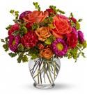 Birthday Flowers - Anniversary How Sweet It Is Roses, Spray