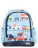 Bobbleart - Traffic Small Backpack Accessories (blue Multi)
