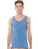 Neuw - Indigo Service Tank T-shirts & Singlets (indigo)
