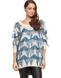 Piper Lane - Inca Sweater Jumpers & Cardigans (cream Blue)